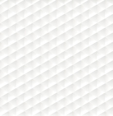 White geometric pattern modern background.