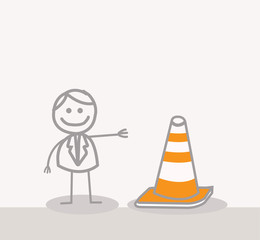 Funny Doodle : Under Construction Sign
