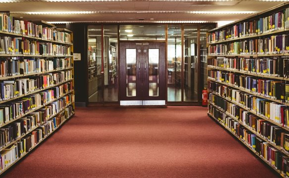 Entrance of the college library