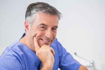 Portrait of a cheerful dentist