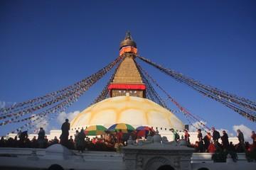 Stupa de Bodnath à Katmandou