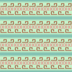 Seamless pattern in Maya style