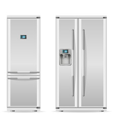 refrigerator for home use vector illustration
