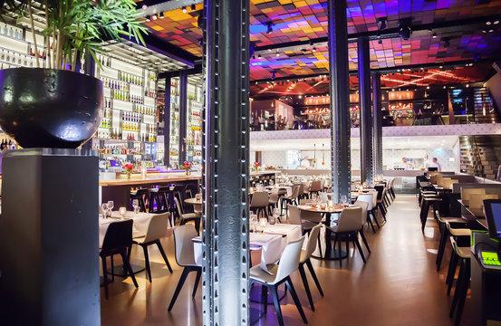 wine bar in Amsterdam