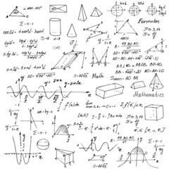 Math. Trigonometry formulas. Back to school.