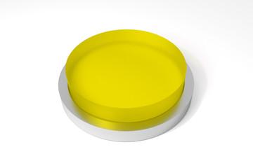 round yellow button on white surface