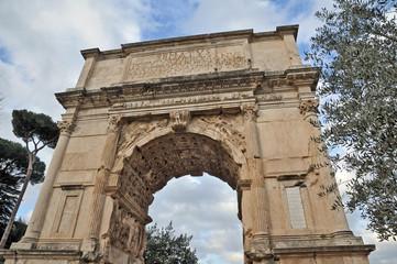 Roma i Fori Imperiali - Arco di Tito