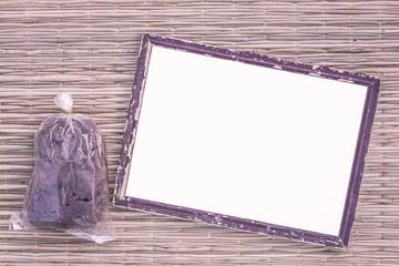 wooden black picture frame