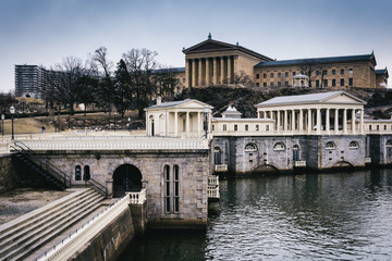 The Fairmount Water Works and Museum of Art in Philadelphia, Pen