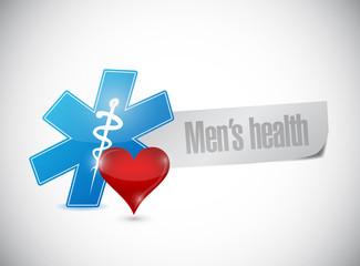 medical symbol mens health sign