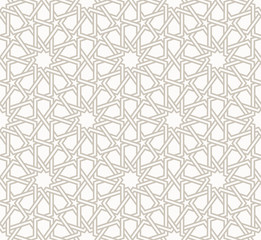 Tangled modern pattern, based on traditional oriental patterns.