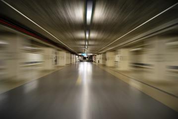 Parking souterrain vitesse