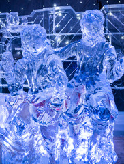 Ice Sculptures 'The Land of the Hobs' 2014