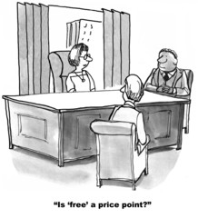 Is 'free' a price point?