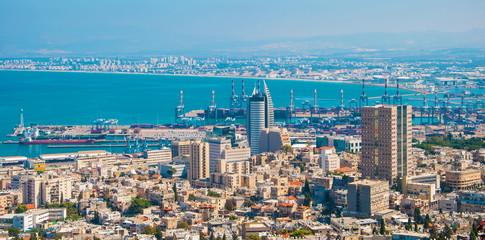 Israel's largest port on Mediterranean Sea - Haifa
