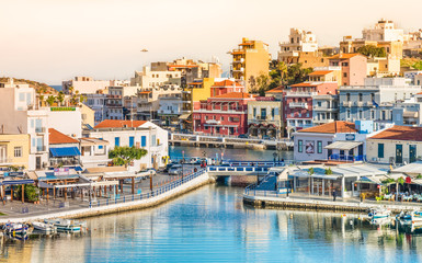 Crete, Agios Nikolaos, Greece.