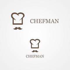 Chef vector design template