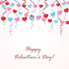 Valentines pennants