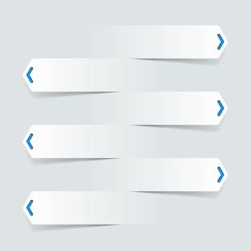 Vector Background #Cutout White Arrows