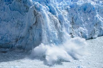 Photo sur Plexiglas Glaciers Perito Moreno-Argentina