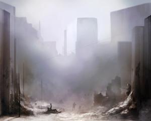 Battlefield art background