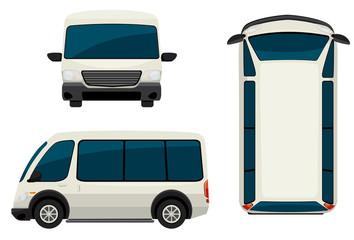 A van