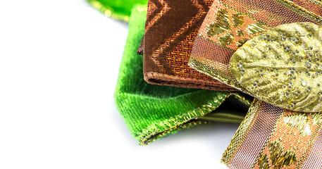 Gift bow textile