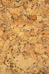 Tuinposter Texturen Cork panel