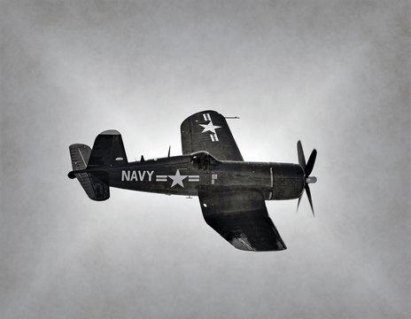 World War 2 Navy airplane