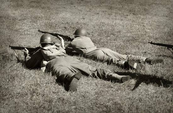 World War 2 soldiers