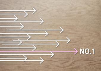 矢印 arrow NO1 ナンバーワン