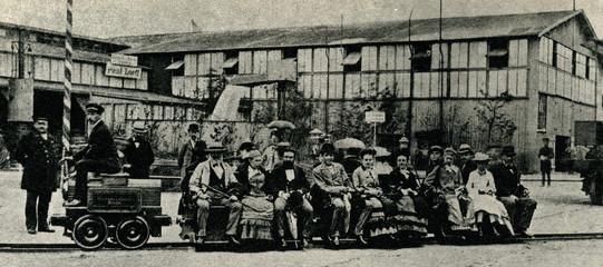 Siemens experimental electric train, 1879