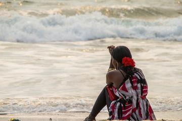 Am Strand von Sierra Leone