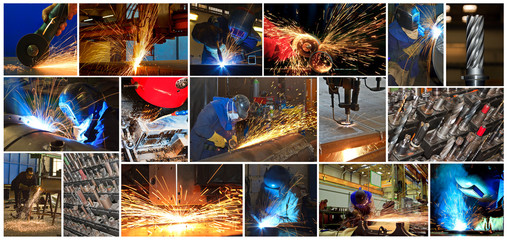 Collage - Metallindustrie