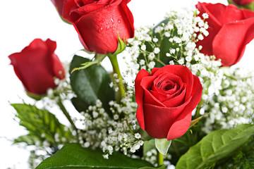 Valentine: Arrangement Of Red Roses