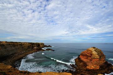Cliffs along the Atlantic coast
