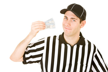Referee: Ref Has Pair of Tickets