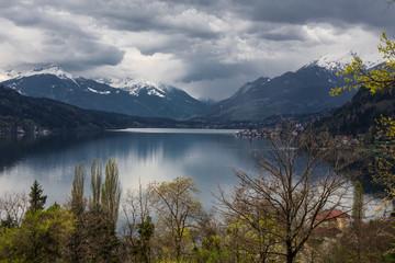 Lake view in Austria