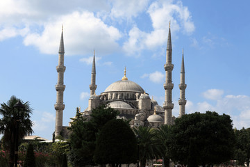 Facade of Blue Mosque
