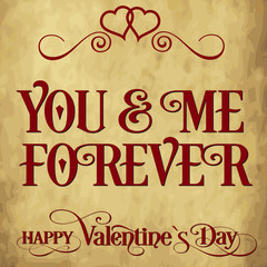 Valentine`s day card 2