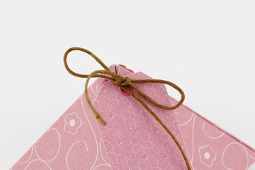 Gift box, made of paper