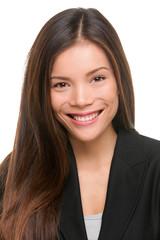 Asian business woman professional portrait