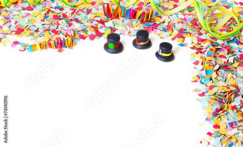 Fasching Konfetti Hintergrund Stockfotos Und Lizenzfreie Bilder