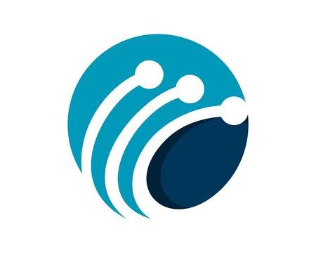 technology logo template v.2