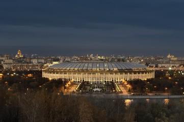 """The Grand Sports Arena """"Luzhniki"""" in Moscow"""