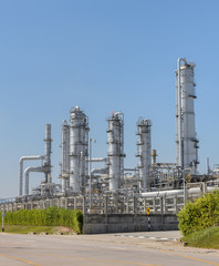 Petrochemical industrial plant in Thailand