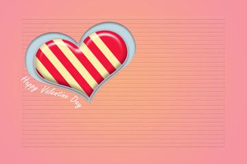 Heart shape candy