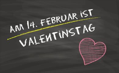 14. Februar / Valentinstag / Hinweis