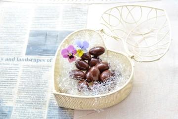 チョコレートとビオラ