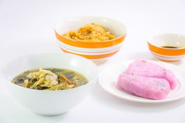 Vegan food popular manu in Nine Emperor Gods Festival ( J food )